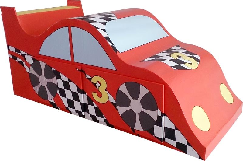La voiture de course